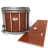 Pearl Championship Maple Snare Drum Slip -  French Mahogany (Neutral)