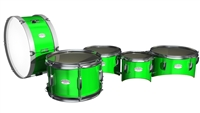 Pearl Junior Series Drum Slips - Bright Green