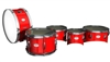 Pearl Junior Series Drum Slips - Bright Red