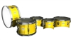 Pearl Junior Series Drum Slips - Yellow