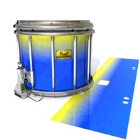 Pearl Championship Maple Snare Drum Slip (Old) - Afternoon Fade (Blue)