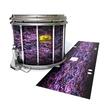 Pearl Championship Maple Snare Drum Slip (Old) - Alien Purple Grain (Purple)