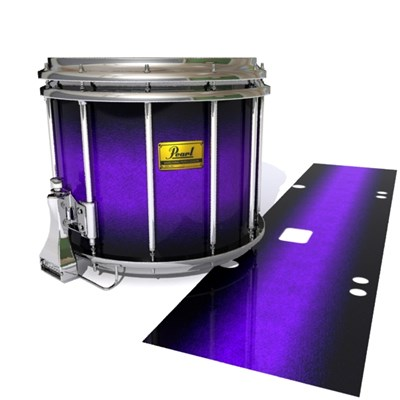 Pearl Championship Maple Snare Drum Slip (Old) - Amethyst Haze (Purple)