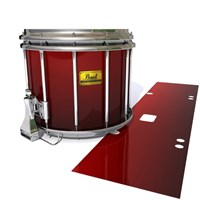Pearl Championship Maple Snare Drum Slip (Old) - Apple Maple Fade (Red)