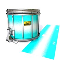 Pearl Championship Maple Snare Drum Slip (Old) - Aqua Wake (Aqua)