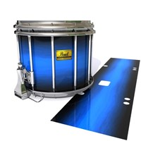 Pearl Championship Maple Snare Drum Slip (Old) - Azure Stain Fade (Blue)