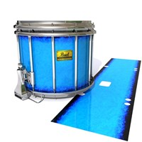 Pearl Championship Maple Snare Drum Slip (Old) - Bermuda Blue (Blue)