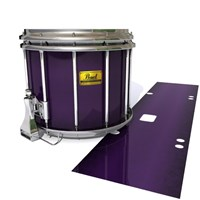 Pearl Championship Maple Snare Drum Slip (Old) - Black Cherry (Purple)