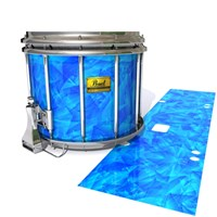 Pearl Championship Maple Snare Drum Slip (Old) - Blue Cosmic Glass (Blue)