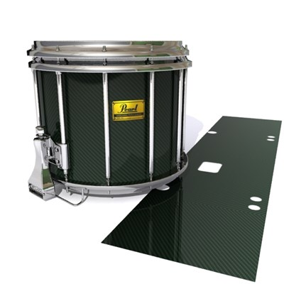 Pearl Championship Maple Snare Drum Slip (Old) - Green Carbon Fade (Green)