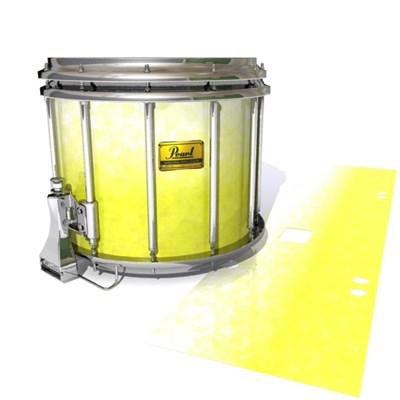 Pearl Championship Maple Snare Drum Slip (Old) - Salty Lemon (Yellow)