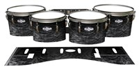 Pearl Championship CarbonCore Tenor Drum Slips - Ashy Grey Rosewood (Neutral)