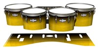 Pearl Championship CarbonCore Tenor Drum Slips - Aureolin Fade (Yellow)