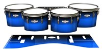 Pearl Championship CarbonCore Tenor Drum Slips - Azure Stain Fade (Blue)