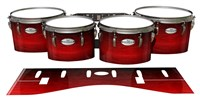 Pearl Championship Maple Tenor Drum Slips - Active Red (Red)