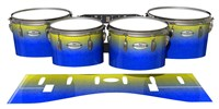 Pearl Championship Maple Tenor Drum Slips - Afternoon Fade (Blue)