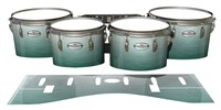 Pearl Championship Maple Tenor Drum Slips - Alpine Fade (Green)