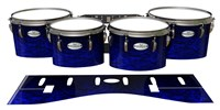 Pearl Championship Maple Tenor Drum Slips - Andromeda Blue Rosewood (Blue)