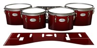 Pearl Championship Maple Tenor Drum Slips - Apple Maple Fade (Red)