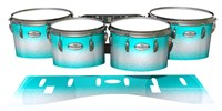Pearl Championship Maple Tenor Drum Slips - Aqua Wake (Aqua)