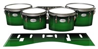 Pearl Championship Maple Tenor Drum Slips - Asparagus Stain Fade (Green)