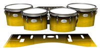 Pearl Championship Maple Tenor Drum Slips - Aureolin Fade (Yellow)