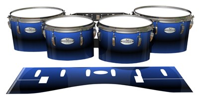 Pearl Championship Maple Tenor Drum Slips - Azzurro (Blue)