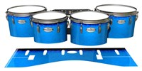 Pearl Championship Maple Tenor Drum Slips - Bermuda Blue (Blue)