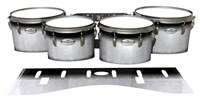 Pearl Championship Maple Tenor Drum Slips - Black Magic Fade (Neutral)