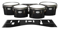 Pearl Championship Maple Tenor Drum Slips - Black Stain (Neutral)