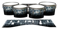 Pearl Championship Maple Tenor Drum Slips - Blue Ridge Graphite (Neutral)