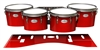 Pearl Championship Maple Tenor Drum Slips - Cherry Pickin' Red (Red)