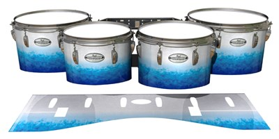 Pearl Championship Maple Tenor Drum Slips - Glacier Blue (Blue)