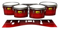 Pearl Championship Maple Tenor Drum Slips (Old) - Active Red (Red)