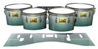 Pearl Championship Maple Tenor Drum Slips (Old) - Alpine Fade (Green)