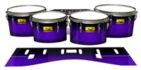 Pearl Championship Maple Tenor Drum Slips (Old) - Amethyst Haze (Purple)