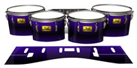 Pearl Championship Maple Tenor Drum Slips (Old) - Antimatter (Purple)
