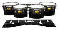 Pearl Championship Maple Tenor Drum Slips (Old) - Asphalt (Neutral)