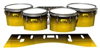 Pearl Championship Maple Tenor Drum Slips (Old) - Aureolin Fade (Yellow)