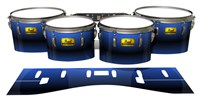 Pearl Championship Maple Tenor Drum Slips (Old) - Azzurro (Blue)