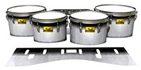 Pearl Championship Maple Tenor Drum Slips (Old) - Black Magic Fade (Neutral)