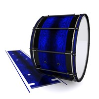 System Blue Professional Series Bass Drum Slip - Andromeda Blue Rosewood (Blue)