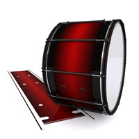 System Blue Professional Series Bass Drum Slip - Apple Maple Fade (Red)