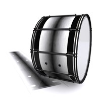 System Blue Professional Series Bass Drum Slip - Arctic Night Fade (Neutral)
