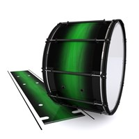 System Blue Professional Series Bass Drum Slip - Asparagus Stain Fade (Green)