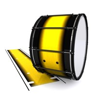 System Blue Professional Series Bass Drum Slip - Aureolin Fade (Yellow)