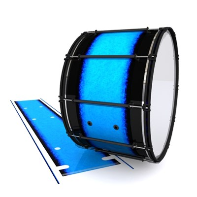 System Blue Professional Series Bass Drum Slip - Bermuda Blue (Blue)