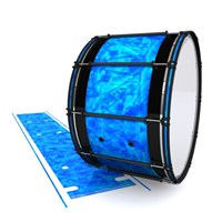 System Blue Professional Series Bass Drum Slip - Blue Cosmic Glass (Blue)