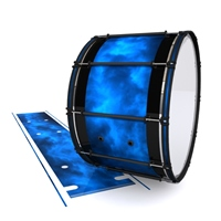 System Blue Professional Series Bass Drum Slip - Blue Smokey Clouds (Themed)
