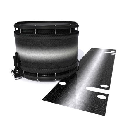 System Blue Professional Series Snare Drum Slip - Burnout Black (Neutral)